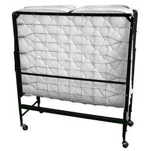 McClusky Rollaway White Folding Bed