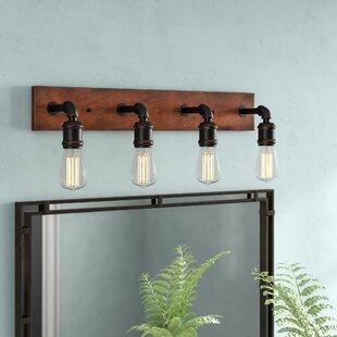 Affordable Price Davidson 4-Light Vanity Light ByTrent Austin Design