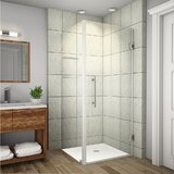 Aquadica GS 32 x 72 Square Hinged Shower Enclosure byAston