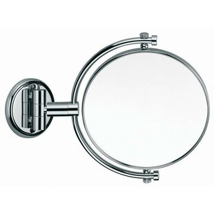 Latitude Run Maize Double-Sided Makeup/Shaving Mirror