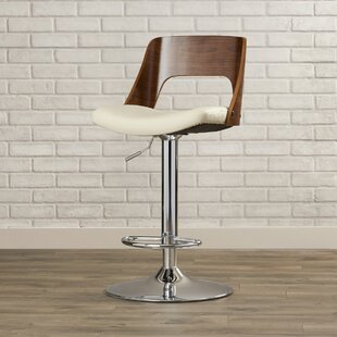 Arechiga Swivel Bar Stool Brayden Studio