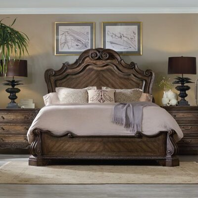 Hooker Furniture Rhapsody Panel Bed