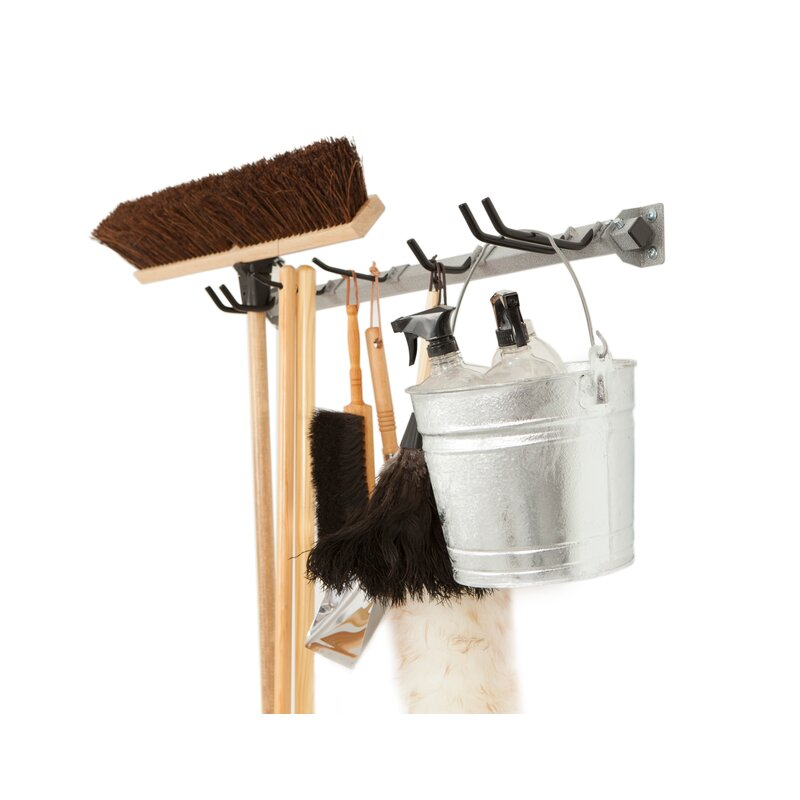 Mop And Broom Storage Rack