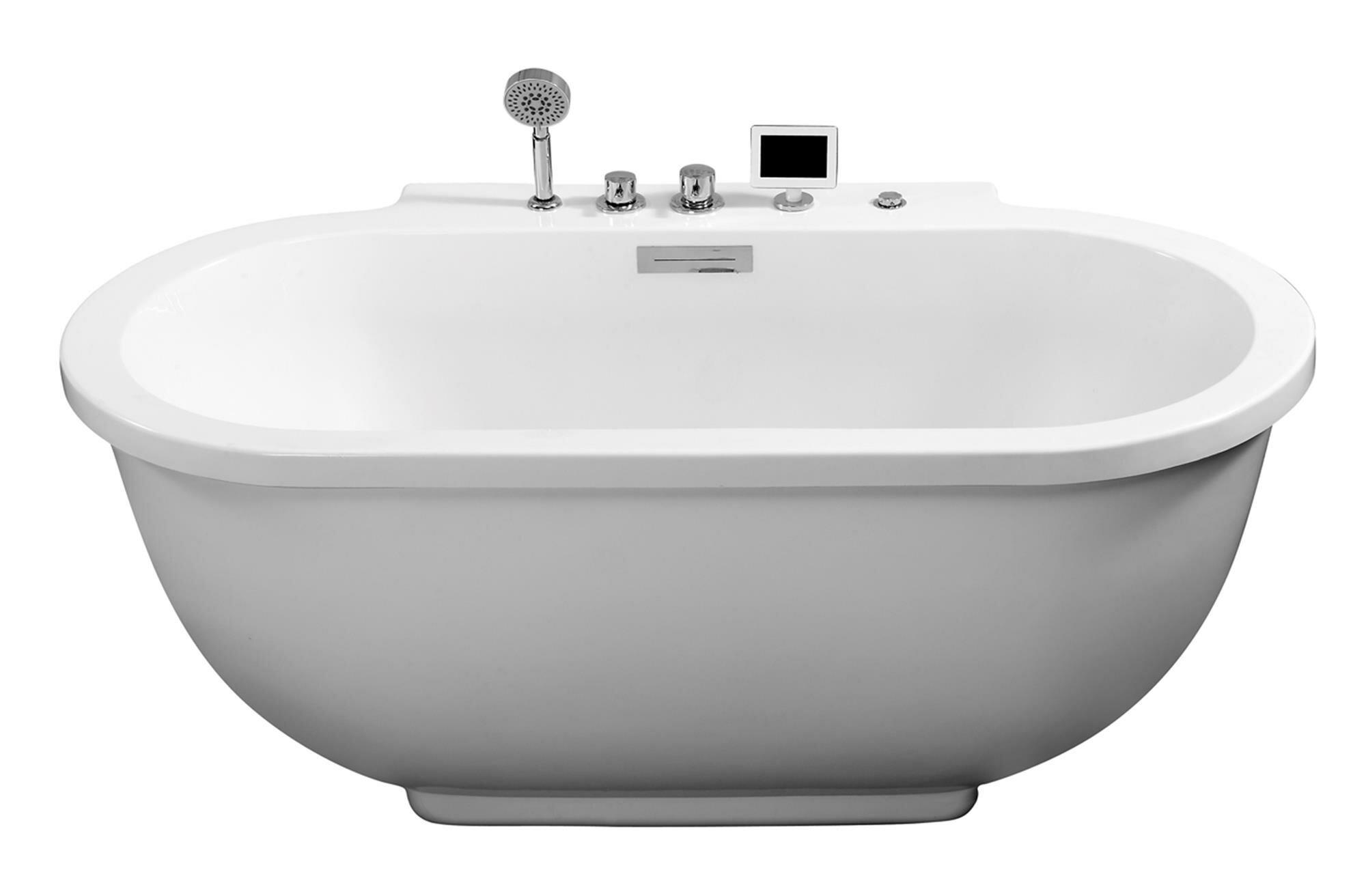 whirlpool freestanding canada lowe lh bathtub standing free milla semi tubs industries acrylic bathtubs tub tec s acri