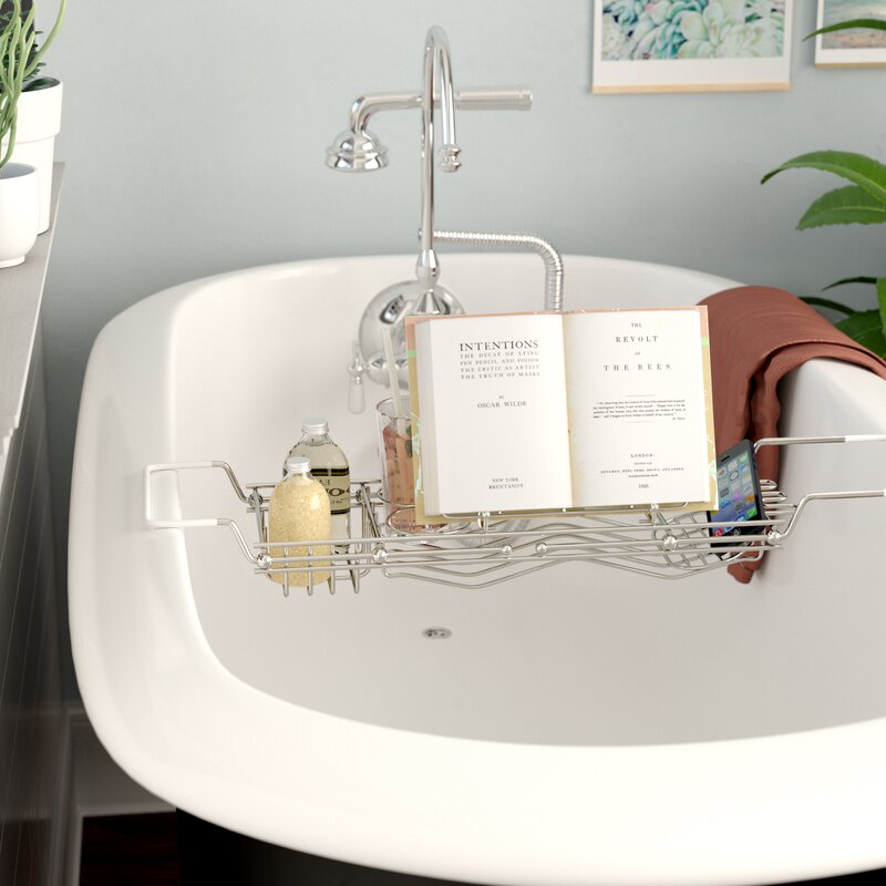 Rebrilliant Stainless Steel Bath Caddy & Reviews | Wayfair