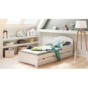 Bed Frame With Drawers By Harriet Bee