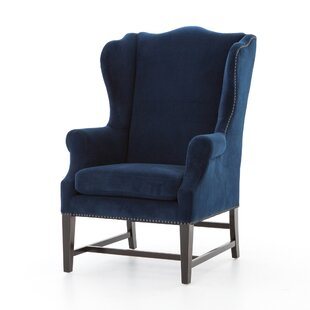 Dravo Wing back Chair by Gracie Oaks
