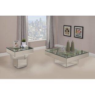 Orren Ellis Grote 2 Piece Coffee Table Set