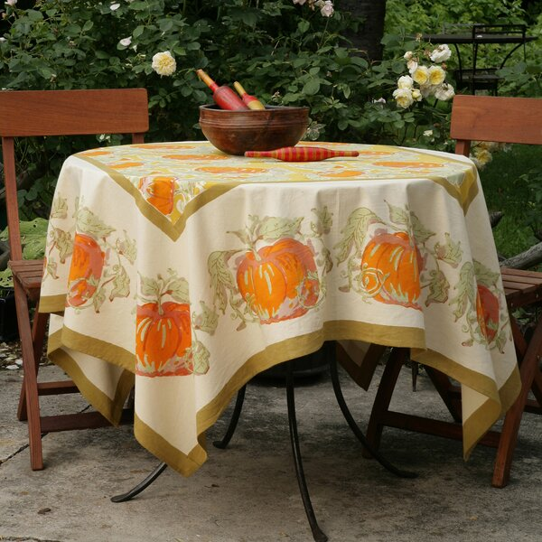 Pumpkin Tablecloth