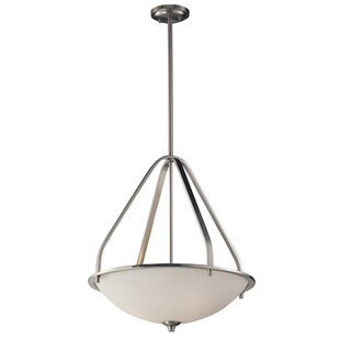 Winston Porter Westra 3-Light Bowl Pendant