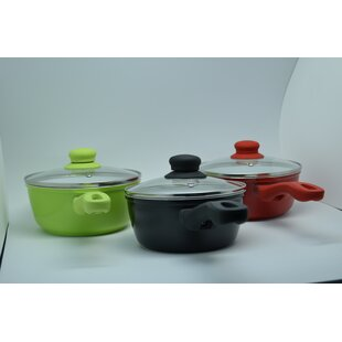 Non Stick Saucepan with Lid by Neat Ideas