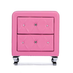 Stella 2 Drawer Nightstand by Wholesale Interiors #1