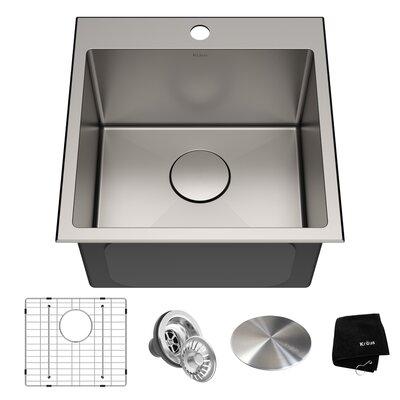 Kraus Drop Kitchen Sink Bottom Grid Drain Drain Cap Sinks
