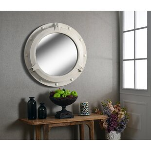 Low priced Coastal Round Wall Mirror ByLongshore Tides