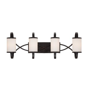 Best Price Bellemeade 4-Light Vanity Light By Designers Fountain