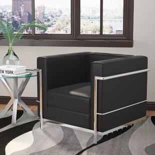 Burnside Italian Lounge Chair by Wade Logan