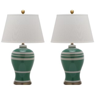 Compare prices Ginger Jar 29 Table Lamp (Set of 2) By Alcott Hill