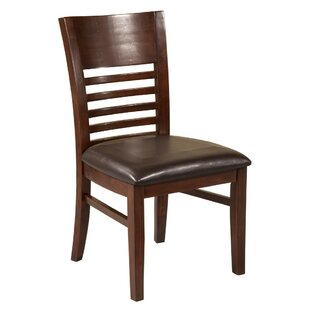 Figy Solid Wood Dining Chair (Set of 2) Red Barrel Studio