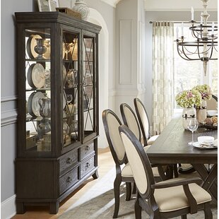 Leslie China Cabinet by Canora Grey