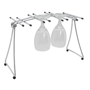 Fusion Tabletop Wine Glass Rack by Oenophilia