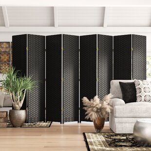 Wassim 8 Panel Room Divider by World Menagerie