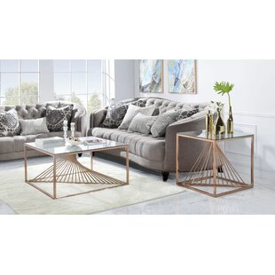 Welwyn 2 Piece Coffee Table Set Brayden Studio