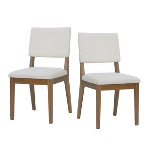 Tauber Upholstered Dining Chair (Set of 2) by Union Rustic