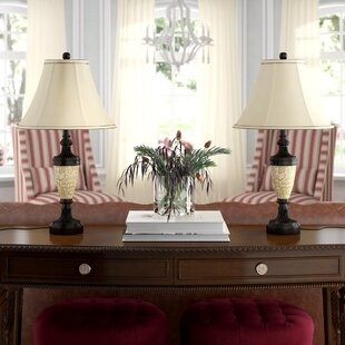 Belvidere Classic Traditional 25 Table Lamp (Set of 2)