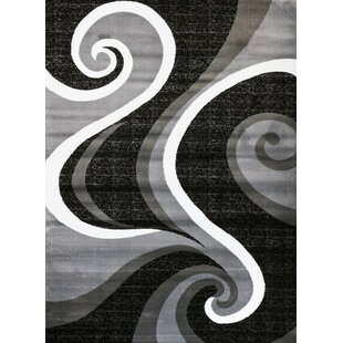 Great Price Chelston Abstract Gray Area Rug ByWade Logan