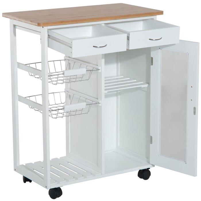 Etheridge Organizer Appliance Kitchen Cart