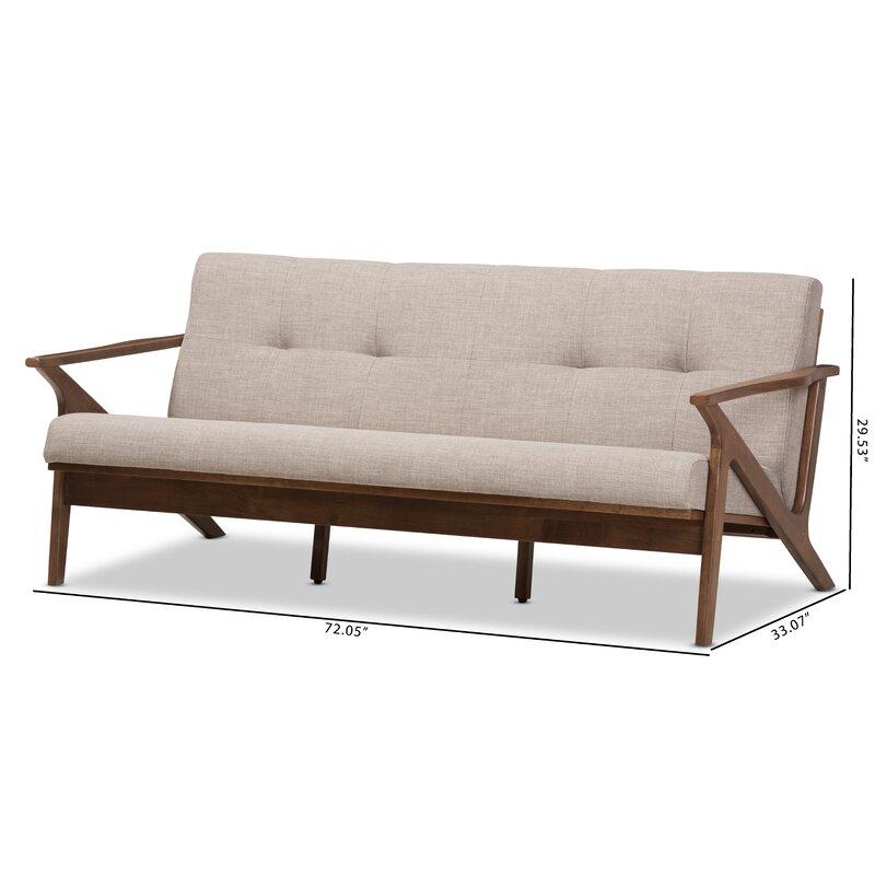 Wojtala Mid Century Modern Sofa