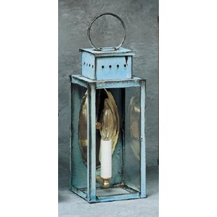 Purchase Wildes 1-Light Outdoor Wall Lantern By Breakwater Bay