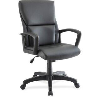 Lorell Euro Design Mid-Back Desk Chair