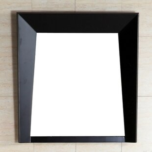 Bellaterra Home Wood Frame Wall Mirror