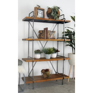 4 Tier Etagere Bookcase by Cole & Grey Sale