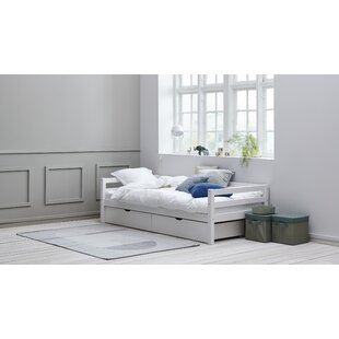 Bowdoin European Single (90 X 200cm) Bed Frame With Drawers By Isabelle & Max
