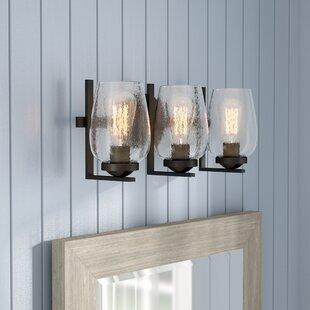 Reviews Chubbuck 3-Light Vanity Light ByLaurel Foundry Modern Farmhouse