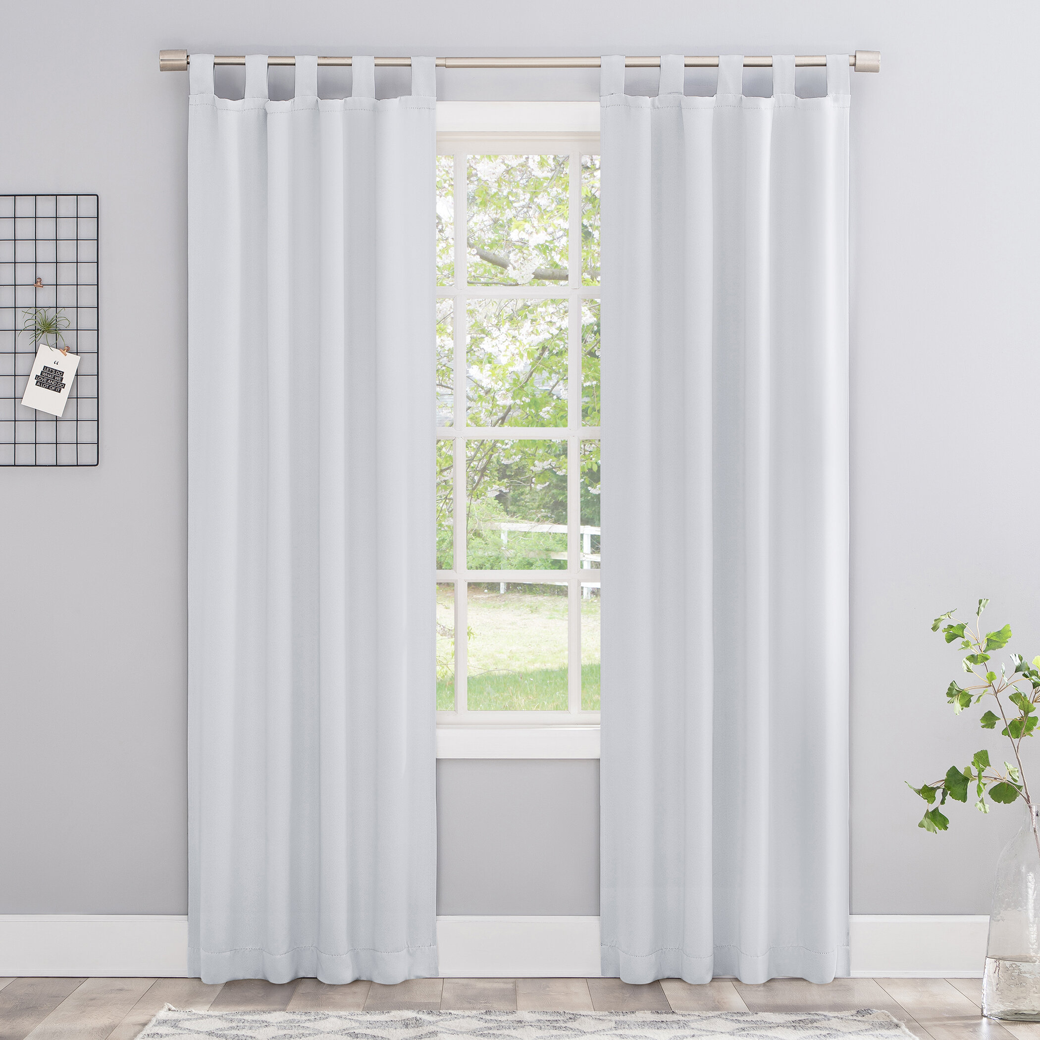 Bedroom White Curtains Drapes Free Shipping Over 35 Wayfair