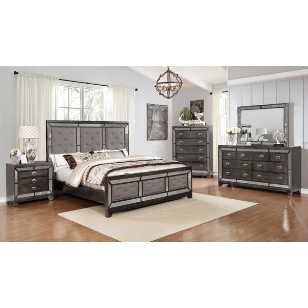Everly Quinn Dania Standard 3 Piece Bedroom Set Reviews Wayfair