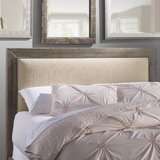 Castagnier Upholstered Panel Headboard by Lark Manor