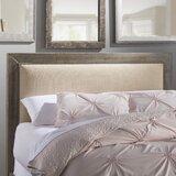 Castagnier Upholstered Panel Headboard byLark Manor