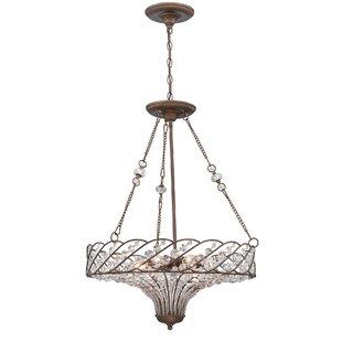 Howell 8-Light Bowl Pendant by Astoria Grand