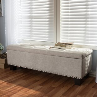 Ouzts Upholstered Storage Bench by Alcott Hill