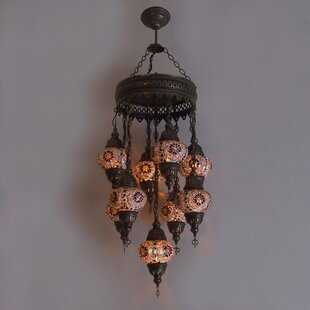 Ellzey 9-Light Cluster Pendant by Bloomsbury Market