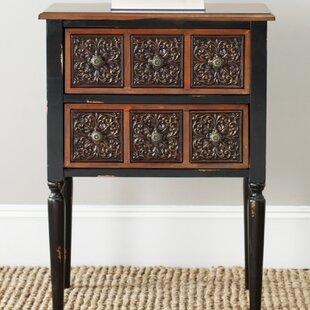 Grandfield End Table with Storage by Fleur De Lis Living