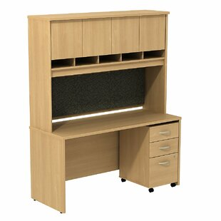 Read Reviews Series C Desk with Hutch By Bush Business Furniture