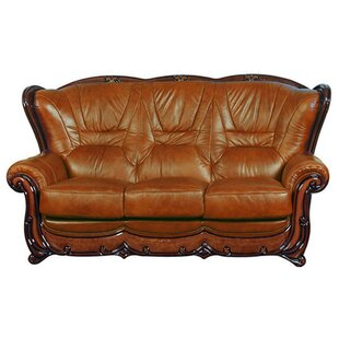 Restivo Leather Sofa