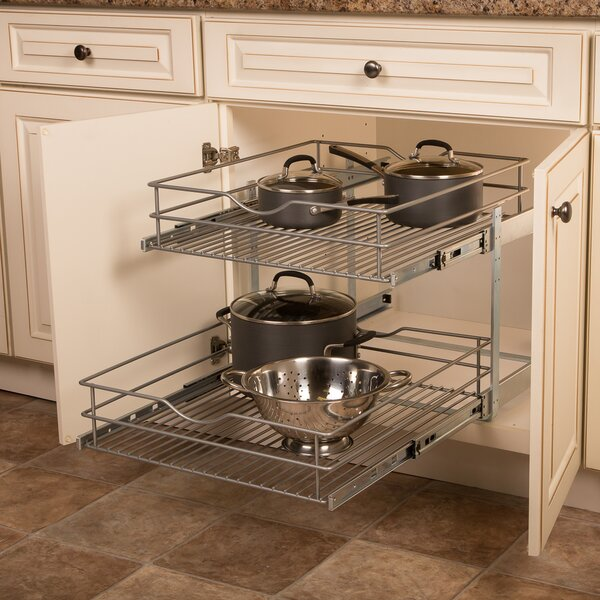 Pull Out Wire Baskets | Wayfair