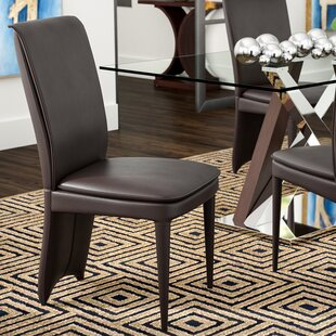Ebern Designs Edwards Upholstered Dining Chair (Set of 2)