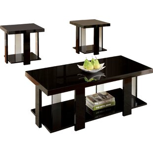 contemporary coffee table sets. Dicken 3 Piece Coffee Table Set Contemporary Sets T